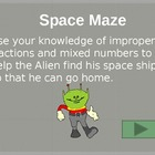 Improper Fractions and Mix Numbers PowerPoint Game