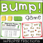 Improper Pizzas Bump Game (Converting Improper Fractions t
