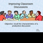 Improve Classroom Discussions