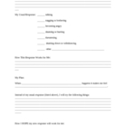 Improving Relationships Worksheet and Action Plan