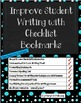 Improving Student Writing by Using Checklist Bookmarks