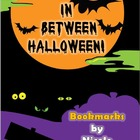 In Between Halloween Bookmarks
