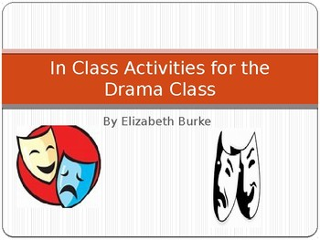 In Class Activities For Drama