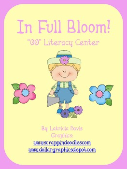In Full Bloom!  Literacy Center/Station for /oo/ sound