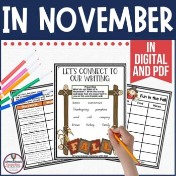 In November by Cynthia Rylant Guided Reading Unit