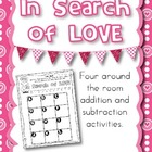 In Search of Love - Around the Room Addition and Subtraction