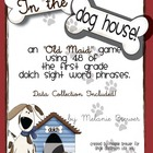 In The Dog House! Sight Word Phrase Game and Data Collection