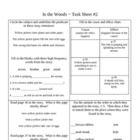 In The Woods Activity Sheets ~ Phonics Library ~ HM® Read