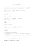 In-text citations Handout