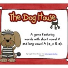In the Doghouse - A Long Vowel A Game