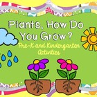 In the Garden Pre-K and Kindergarten Literacy and Math Activities