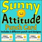 Incentive Punch Card - Sunny Attitude