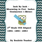 Inch by Inch (CCS 2nd grade aligned) Measurement Lesson