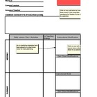 Inclusion Lesson Plan Template with embedded CCSS