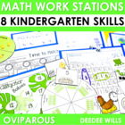 Incredible Egg Oviparous Math Work Stations-Common Core