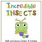 Incredible Insects Math &amp; Literacy Activities