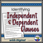 Independent Clauses and Dependent Clauses Handout