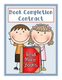 Independent Reading Book Completion Contract