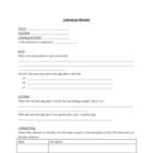 Independent Reading Worksheets