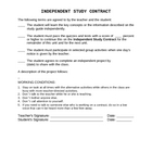 Independent Study Contract