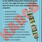 Independent reading program KABOB, reading incentives, rea