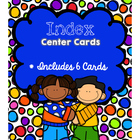 Index Center Cards