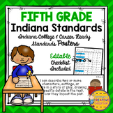 Indiana College and Career Ready Standards ~ 5th Grade ~