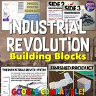 Industrial Revolution Building Block Lesson &amp; Presentation