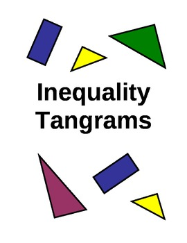 Inequality Graphing Project (Making Tangrams)