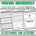 Inference All-Stars Common Core Aligned Mini Unit