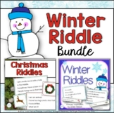 Inference, Key Details, and Vocabulary ~ Riddles Bundle fo