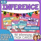 Inference Task Card Bundle: 5 Sets of Paragraph Cards