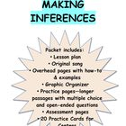 Inferences Pack:Lesson Plan, Song, Overheads, Reading Pass