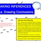 Inferencing/Making Inferences SMARTBoard Lesson; graphic o