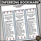 Inferring - Reading Comprehension Strategy Bookmark