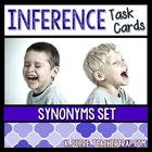 Inference Task Cards: Synonyms With Context Clues Set