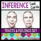 Inference Task Cards: Character Traits and Feelings Set