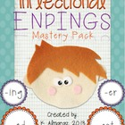 Inflectional Endings Mastery Pack