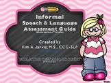 Informal Speech and Language Assessment Guide