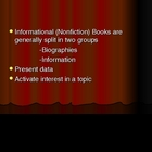 Information Books PowerPoint