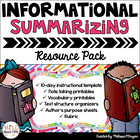 Informational Summarizing Resource Pack