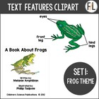 Informational Text Features {Clipart Collection}