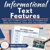 Informational Text Features Unit