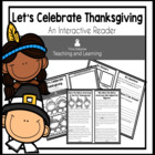 Informational Text Interactive Reader (Let's Celebrate Tha