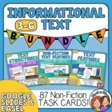 Informational Text Task Card Bundle: 3 Task Card Sets CCSS