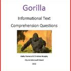 Informational Text on Gorillas