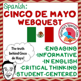 Informative CINCO DE MAYO Webquest! - English version