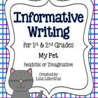 Informative Writing Project for Primary Grades {Common Core}