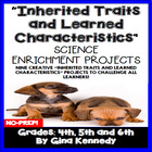 Inherited Traits and Learned Characteristics Differentiate
