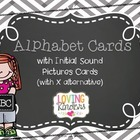 Alphabet Cards, FREEBIE!!